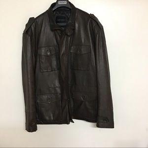 American Base New York Men's Leather Jacket